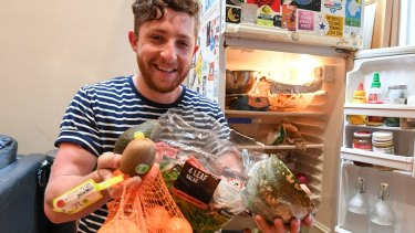 "Patrick Sidoti is a Gen Y Australian, who says he would ""easily"" waste $1000 a year on groceries,"