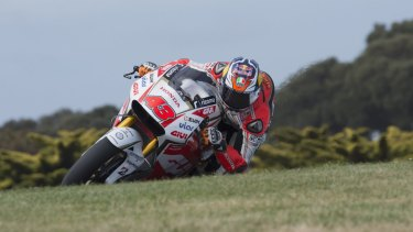 Local hope: Jack Miller is the top Australian contender at the Australian Motorcycle Grand Prix.