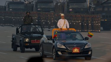 President Thein Sein, a former general, has military backing.
