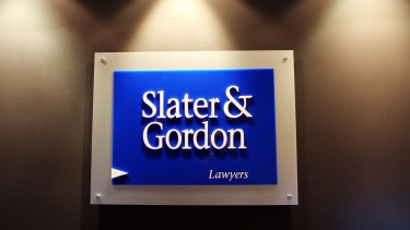 Slater & Gordon has been in financial trouble since last year.