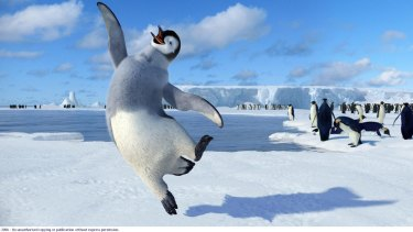 Environmental themes: Happy Feet.