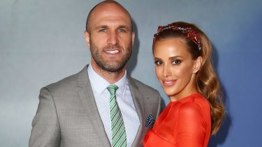 Rebecca Judd and Chris Judd will soon be parents to four children all under the age of five.
