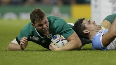 Jordi Murphy's try for Ireland was not enough to overcome a rampaging Pumas outfit.