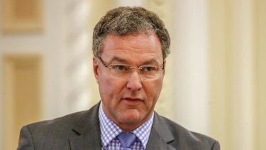 John-Paul Langbroek described the Barrett Centre inquiry as a 'witch hunt'.