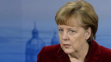 German Chancellor Angela Merkel faces a crucial test as crises converge on Europe.