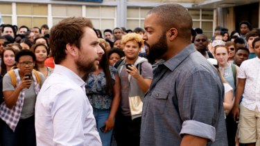 Charlie Day and Ice Cube, as teachers Andy Campbell and Ron Strickland, have a showdown after school.