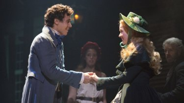 Euan Doidge and Emily Langridge who plays Cosette.
