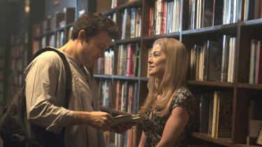 Ben Affleck and Rosamund Pike in