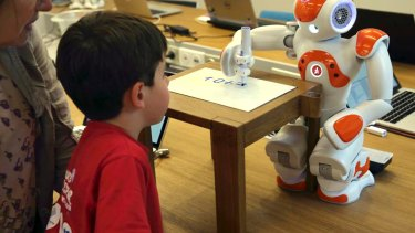 Children have been known to treat NAO bots in their classrooms as just another classmate.