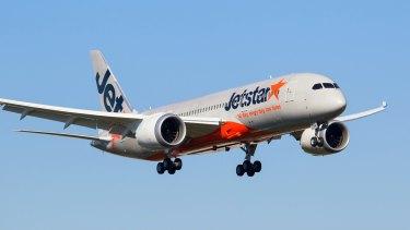 Jetstar flies Boeing 787 Dreamliners on routes between Australia and Hawaii.