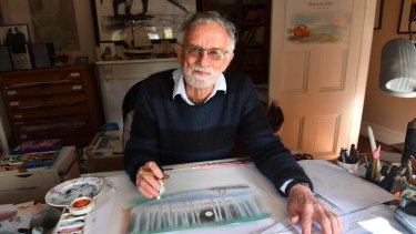 Children's book writer and illustrator Bob Graham has collaborated on or created 90-odd books.