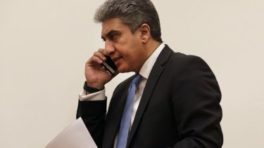 Egyptian Minister of Civil Aviation Sharif Fathy.