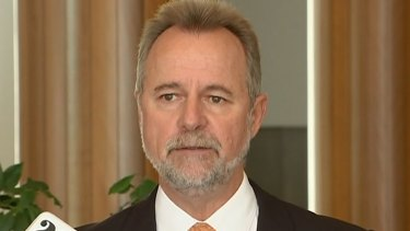 Indigenous Affairs Minister Nigel Scullion on Tuesday.