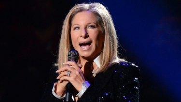Barbra Streisand rocks the natural look.