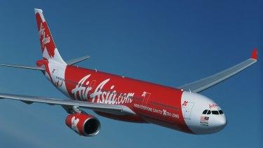 An aircraft from the AirAsia fleet.