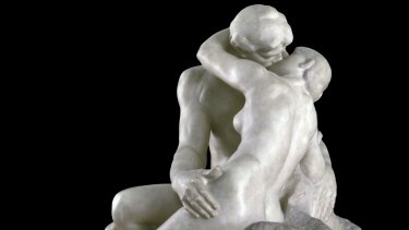 Detail from Auguste Rodin's