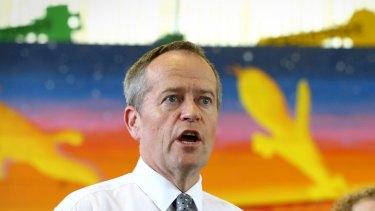 Opposition Leader Bill Shorten in Cairns this week.
