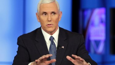 Mike Pence's AOL account was hacked while he was Indiana Governor.