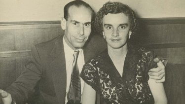 "Nick and Myra met at ballroom dancing lessons, and married in 1955. He was a ""bit naughty""."