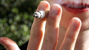 Just 5 per cent of Swedish people smoke cigarettes.