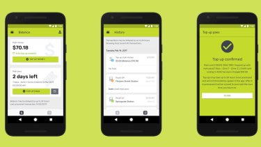 App mypal lets you top-up myki on your mobile.