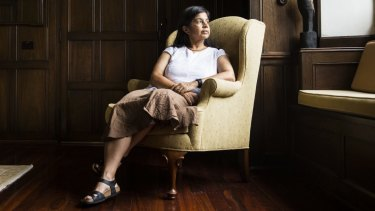 Nalini Joshi at Sydney University on Tuesday.