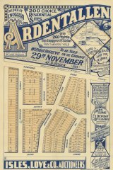The Ardentallen Estate in the Brisbane suburb of Enoggera, promoted in 1913.