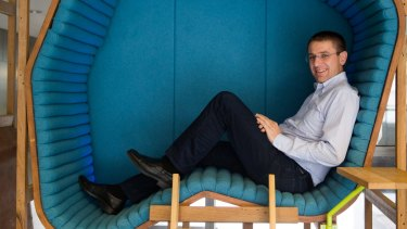 Gerhard Eschelbeck, in charge of Google's 600-strong security and privacy team, in Sydney.