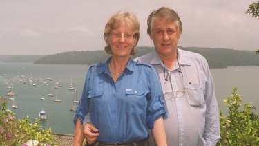 "The very first ""Two of us"": Bob Ellis and Anne Brooksbank"