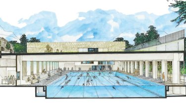 A multimillion-dollar pool development at a Sydney school.