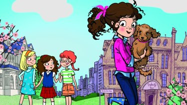 Peppy 10-year-old Alice-Miranda is to become star of a television series.