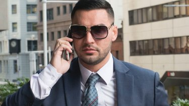 Salim Mehajer, who was not in court on Tuesday, entered a plea of guilty to failing to disclose his political donations by the due date.