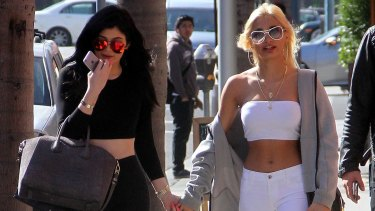 Friends in high places: Pia Mia is good friends with Kim Kardashian's youngest sister, Kylie Jenner.