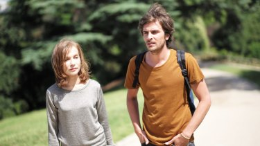 Isabelle Huppert and Roman Kolinka in <i>Things to Come</i>.