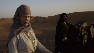Spirited nature: Nicole Kidman as Gertrude Bell in <i>Queen of the Desert</i>.