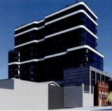 The design for a 14-storey tower to be built at 42 Oxford Street, Collingwood.