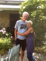 Brendan and Glendah Halliday at home.