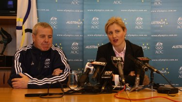 Legal trouble: Fiona de Jong is with the detained athletes.