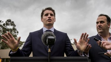 Andrew Hastie, the Liberal candidate for Canning.