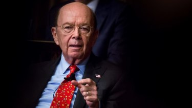Wilbur Ross, the Trump administration's point man on trade and manufacturing policy, has a stake in a company that does business with a gas producer partly owned by the son-in-law of Russian President Vladimir Putin.