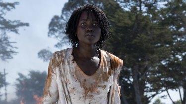 Lupita Nyong'o stars in Us.