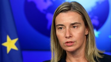 EU weighing more sanctions: European Union foreign policy chief Federica Mogherini.