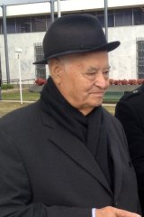 Father Edward Evans, who is on trial for allegedly sexually abusing a young girl in Canberra.