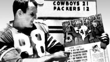 Colin Ridgway, Australia's first NFL representative.