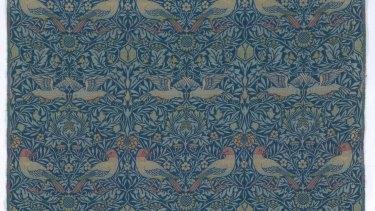 Bird tapestry by William Morris, 1878.