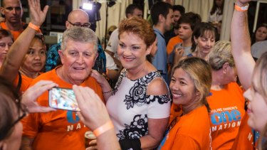 Pauline Hanson should have ridden the populist tsunami that gave Donald Trump the US presidency. Instead she was blaming voters.
