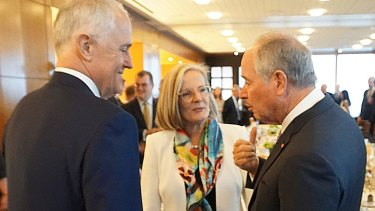 Lucy Turnbull (centre) said while more Australian employers were taking action to improve gender diversity ''there is still much work to be done''.