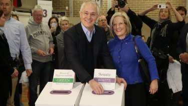 Prime Minister Malcolm Turnbull and his wife Lucy cast their vote on Saturday. Could we all be set to do it again?