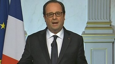 French President Francois Hollande announced a further tightening of security across the country.
