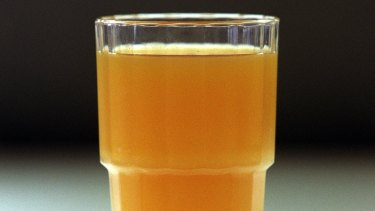 Deadly cocktail of legal medications could be washed down with a glass of orange juice.